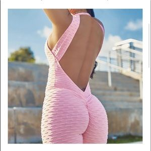 Booty listing body suit.